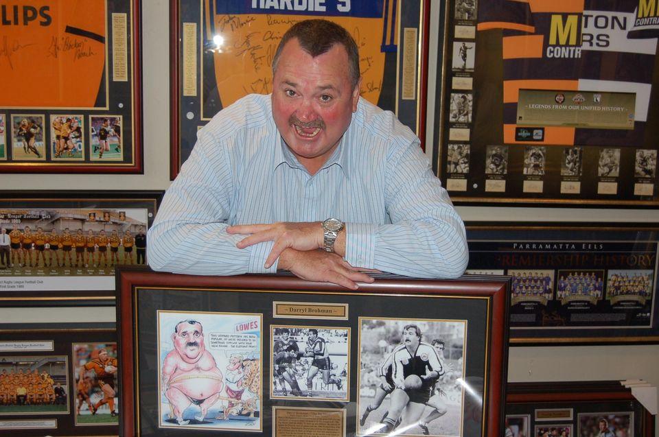 sports identity Darryl Brohman
