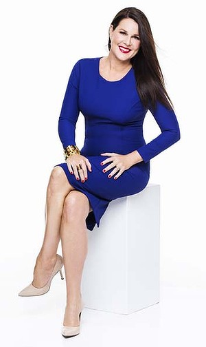 Australia's best comedy star Julia Morris