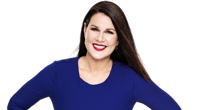 Australian comedian Julia Morris