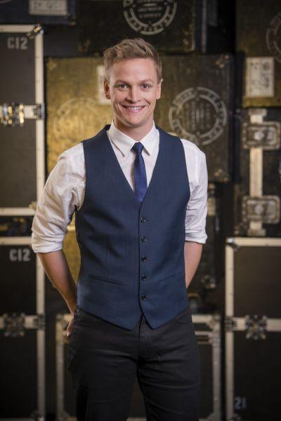 Australian television celebrity Luke Kennedy