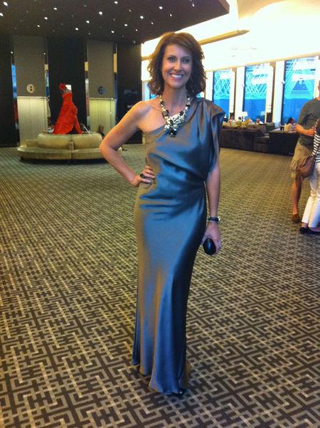 Australian TV celebrity Natalie Barr