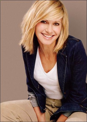Australian TV celebrity Olivia Newton-John
