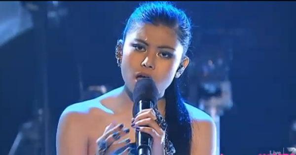 Marlisa Punzalan x factor contestant