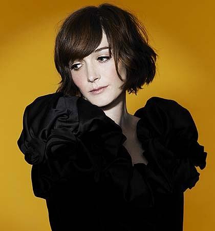 Australian TV celevrity Sarah Blasko