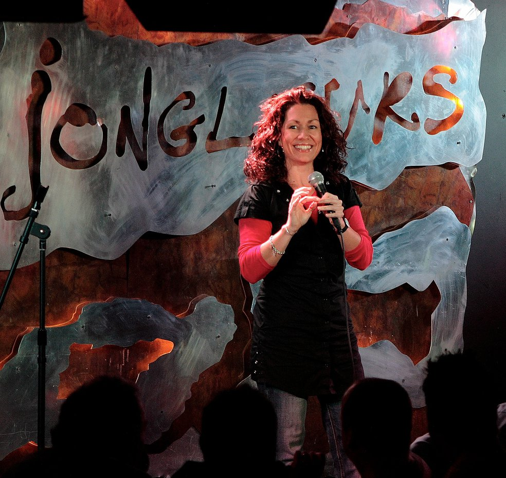 book standup comedian Kitty Flanagan