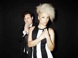 Sneaky Sound System the vocalist duo