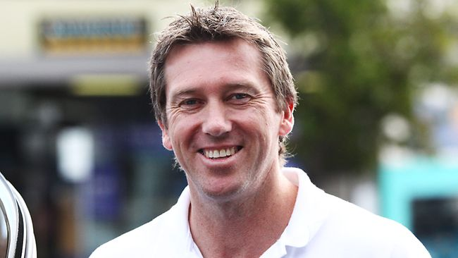 book Australian cricket sensation Glenn McGrath