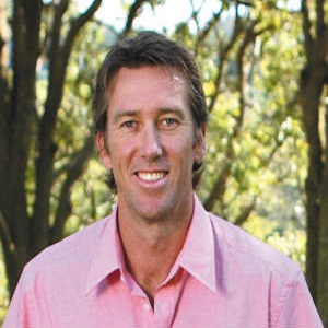 book australian cricket celebrity Glenn McGrath