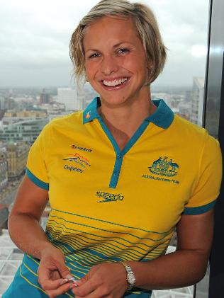 book Australian swimmer Libby Trickett