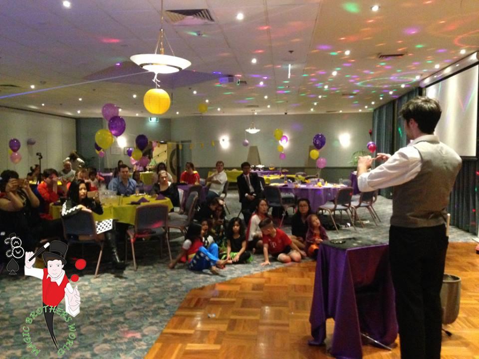 magician Sydney hire