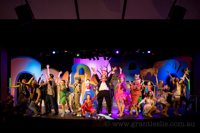 Birdie Productions - Seussical - Grant Leslie Photography