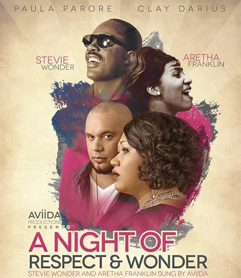 AViiDA A Night of Respect & Wonder Poster